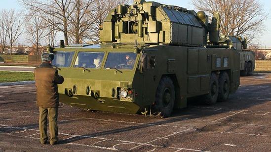 TOR-M2 missile system (RIA Novosti / Andrei Aleksandrov)
