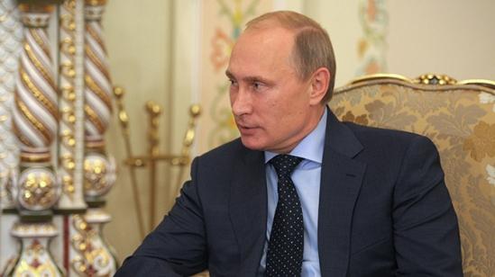 Russian President Vladimir Putin (RIA Novosti / Alexey Druzhinin)