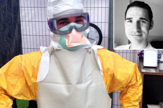 Dr. Craig Spencer recently returned from Guinea where he was treating patients with Ebola.