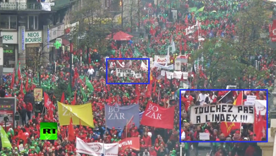 'Don't touch pension age!' Huge turnout at #Brussels anti-austerity march - LIVE FEED http://on.rt.com/h2hwtd