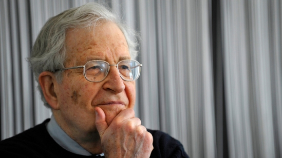 Home /     News / Chomsky to RT: US and its NATO intervention force may spark nuclear war Published time: November 07, 2014 13:20 Get short URL US linguist, philosopher and political activist, Noam Chomsky (AFP Photo DDP / Sascha Schuermann) GERMANY OUT US linguist, philosopher and political activist, Noam Chomsky (AFP Photo DDP / Sascha Schuermann) GERMANY OUT