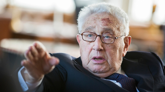 Former U.S. Secretary of State Henry Kissinger (Reuters / Gero Breloer / Pool)