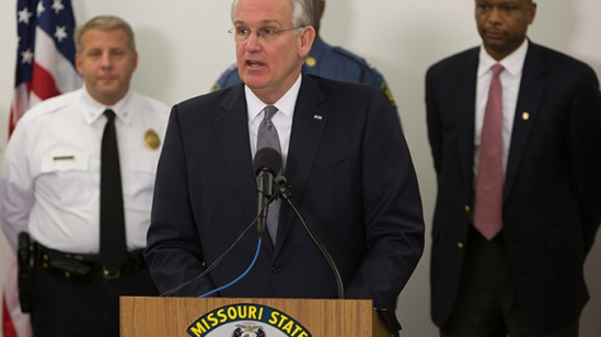 Missouri Governor Jay Nixon (Reuters / Kenny Baht)