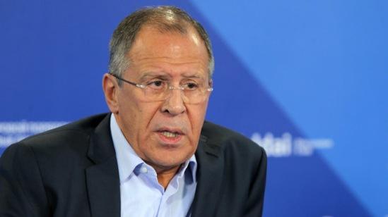 Russian Foreign Minister Sergey Lavrov (RIA Novosti/Mikhail Voskresenskiy)