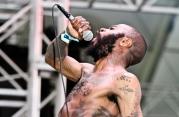 Sacramento hip hop trio Death Grips
