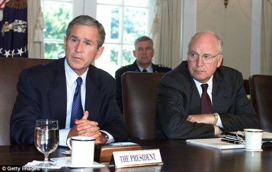Divisions: Polish officials were also said to be disappointed not to have been given more warning of the 2006 acknowledgement of the detention programme by then U.S. President George W Bush (left)