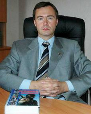 "Aleksandr Kuchinskiy, editor of Donetsk newspaper ""Criminal Express"""