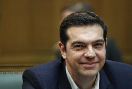Greek Prime Minister Alexis Psipras