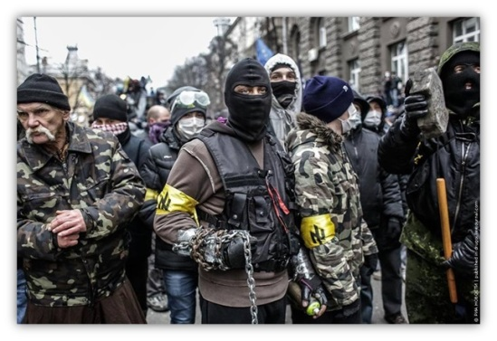 Ukraine fascists