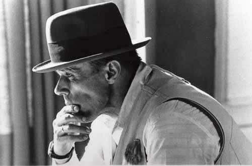 German artist, sculptor, and professor Joseph Beuys
