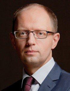 Ukraine's PM Arsenic Yatsenyuk aka The Rabbit