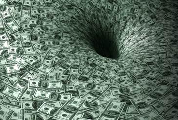 money-black-hole